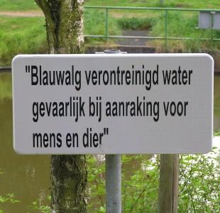 Stilstaand water gevaarlijk
