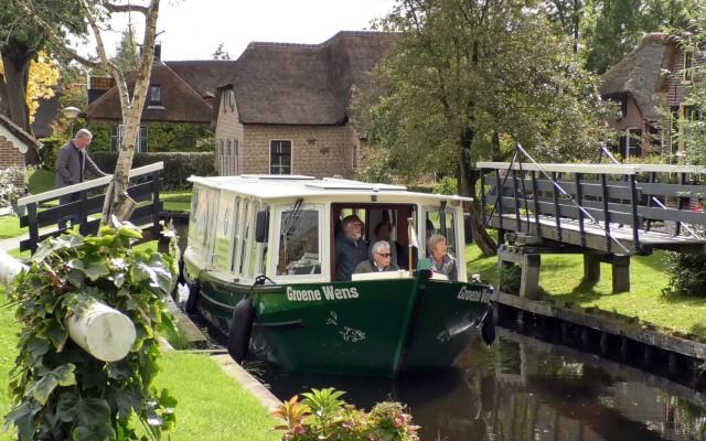 Op vaart met de Groene Wens Boot