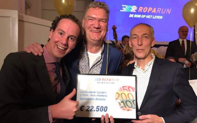 Tweede plaats, 22,500 euro