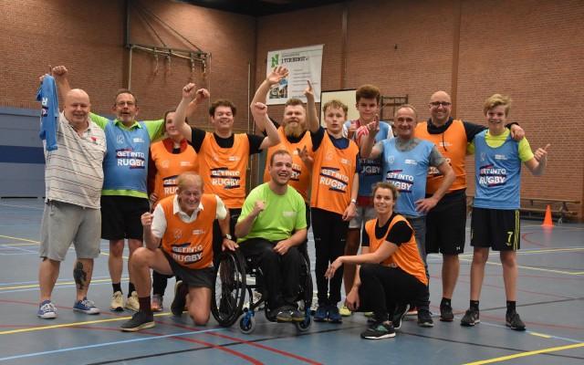 Deelnemers Sportcarrousel rugby