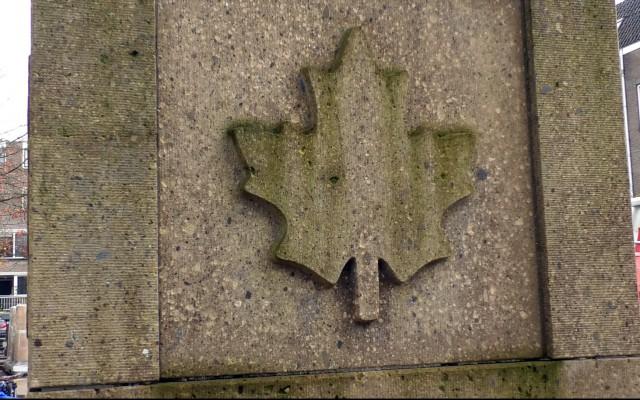 Esdoornblad, symbool voor Canada