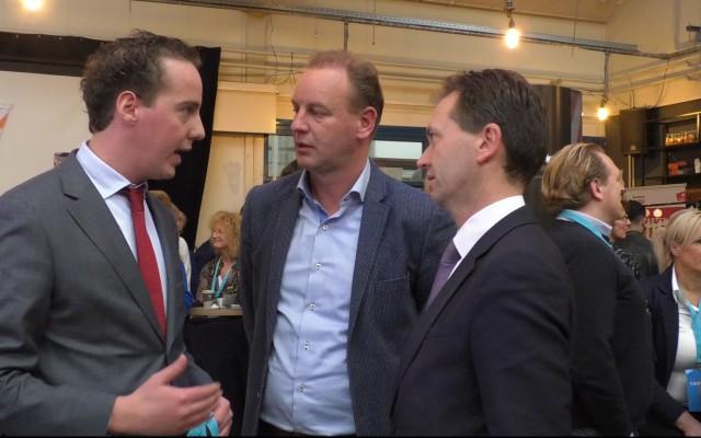 Arjen Maathuis, Elwin Groenevelt en Eddy van Hijum