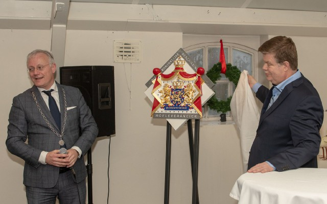 Burgemeester Gerritsen en de heer Wisman