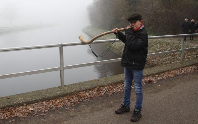Jasper is met zijn twaalf jaar, één van de jongste bloazers met zijn 12 jaar.