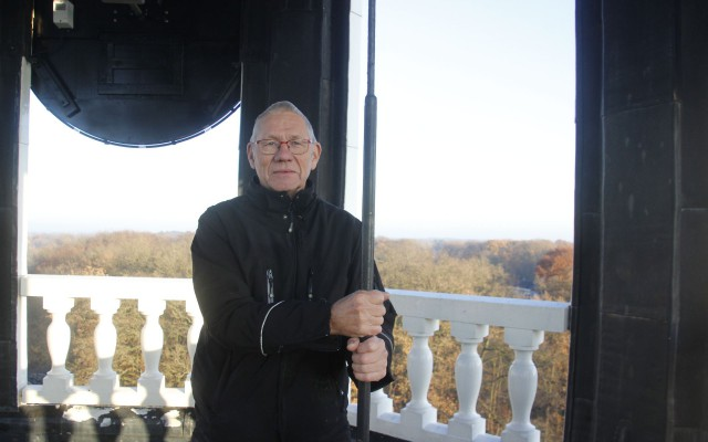 Martin Slim is de uurwerkhersteller van de Grote Kerk