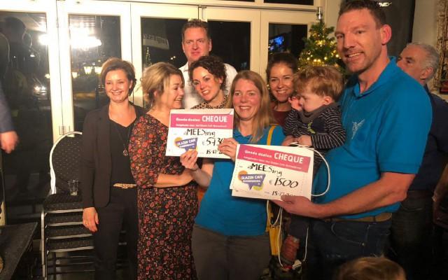 Stichting A-Mees-ing kreeg het grootste bedrag voor onderzoek naar een hulpmiddel voor de 2-jarige