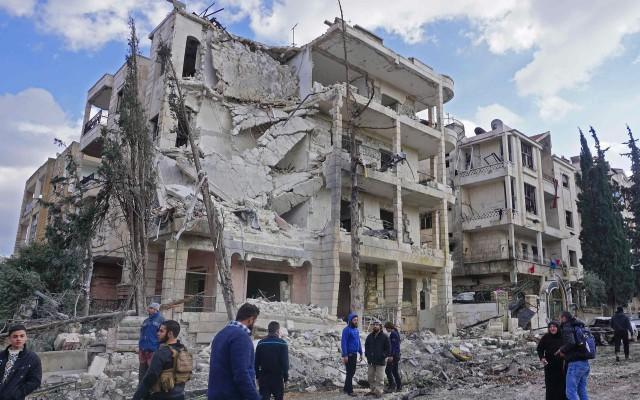 Idlib, Noord-Syrië