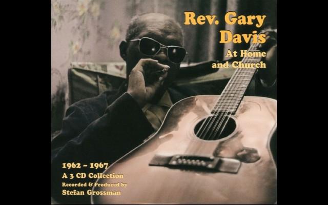 Albumhoes Rev. Gary Davis at Home and Church
