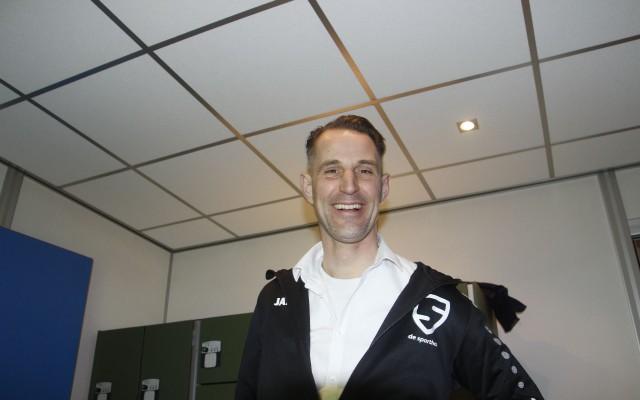 Thijs Blikmans is blij met nieuwe onderkomen