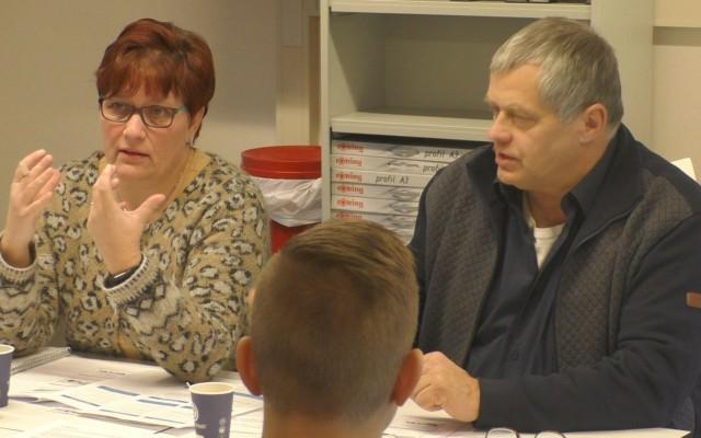 Evelien Logtenberg en Jan Broenink van Het Wroetvarken