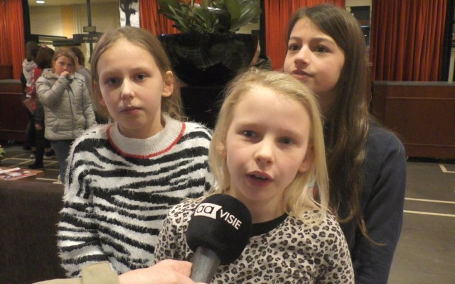 Noa, Demi en Leanneke (v.l.n.r.)