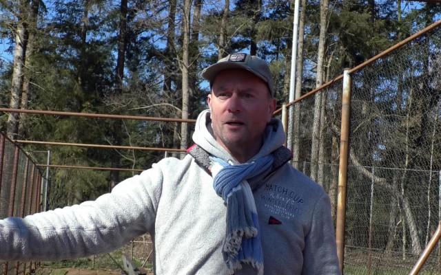 Patrick Visser, tennistrainer