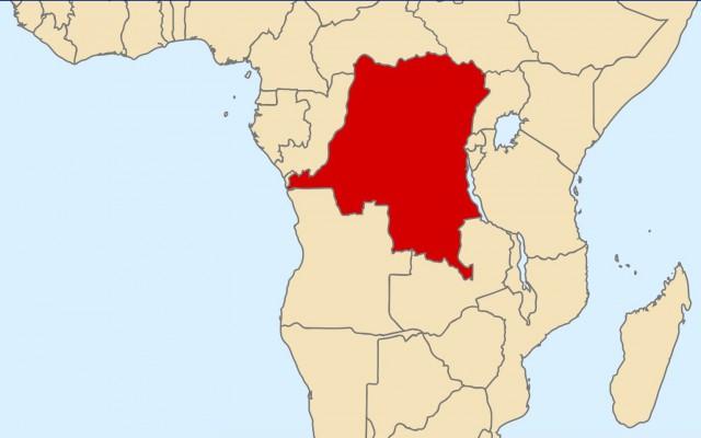 Congo op de kaart