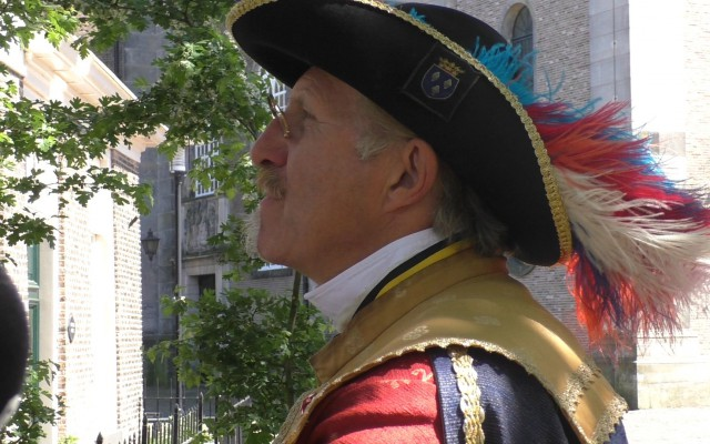René Coupée, stadsomroeper Almelo