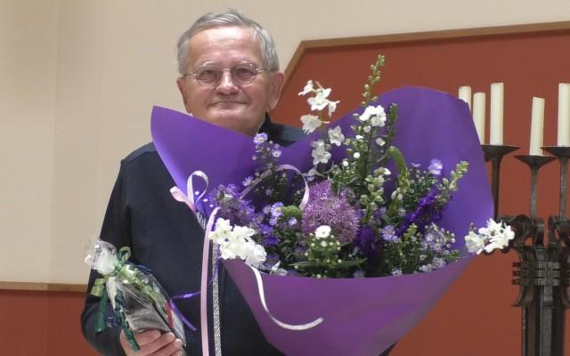 Pastor Eef L.van Vilsteren(75) gaat met emeritaat