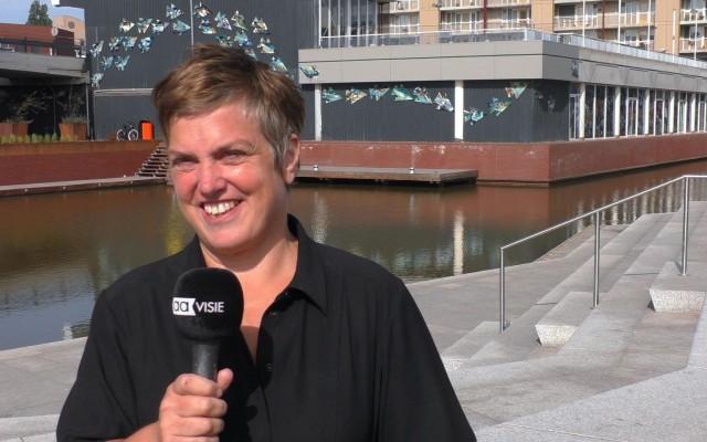 Een gelukkige Anne Wenzel