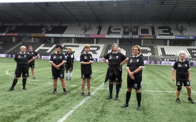Het vrouwen Goldstars team