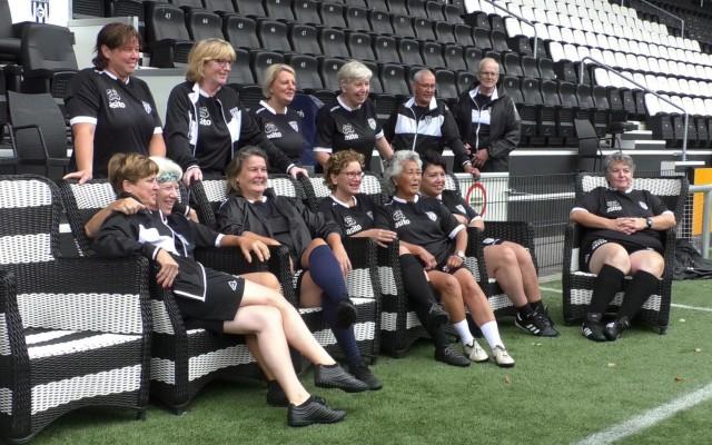 Adempauze voor het vrouwenteam
