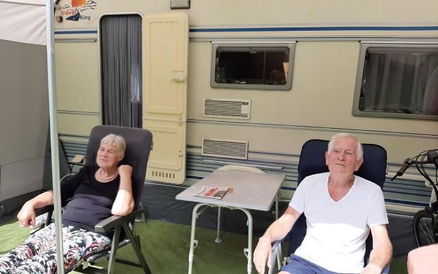 Familie Klifman geniet met volle teugen van de camping