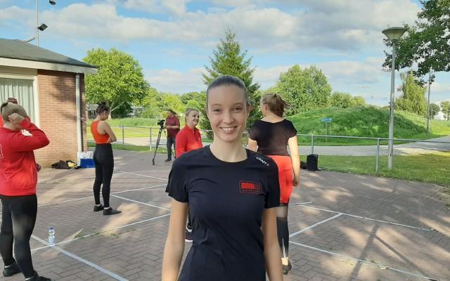 Denise Kroese kwam met de Dance Challenge