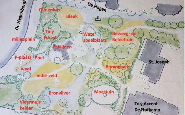 Plattegrond Doepark De Hagen