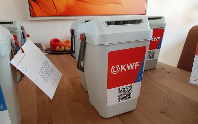 collecte voor het KWF