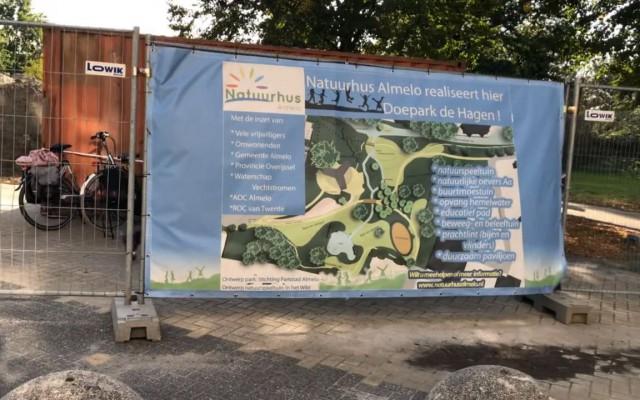 Vrijdag is de aftrap van de bouw van het paviljoen