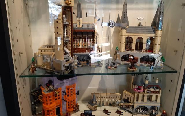 Verschillende Harry Potter bouwwerken