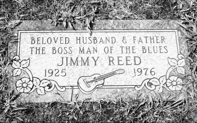 Grafsteen van Jimmy Reed
