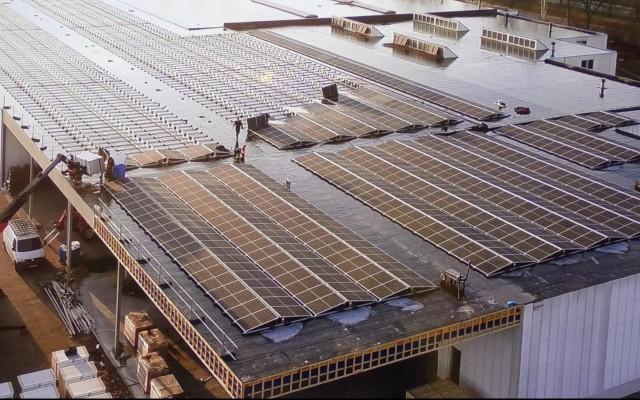 Zonnepanelen op daken
