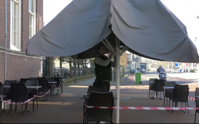 Ook de parasol erbij