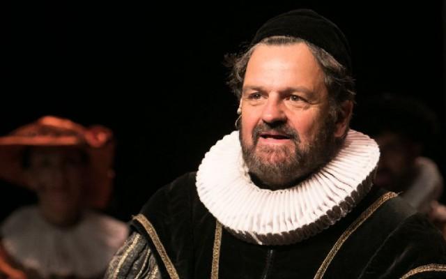 Albert Gietelink als Willem van Oranje
