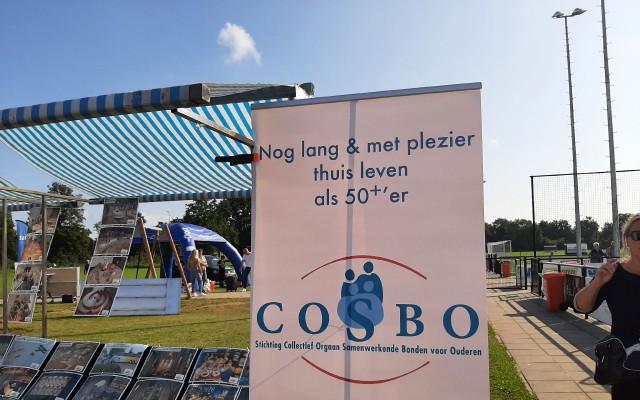 Ook de ouderenvereniging Cosbo present