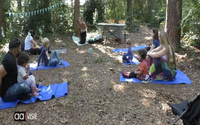 Helemaal tot rust komen met yoga in de natuur