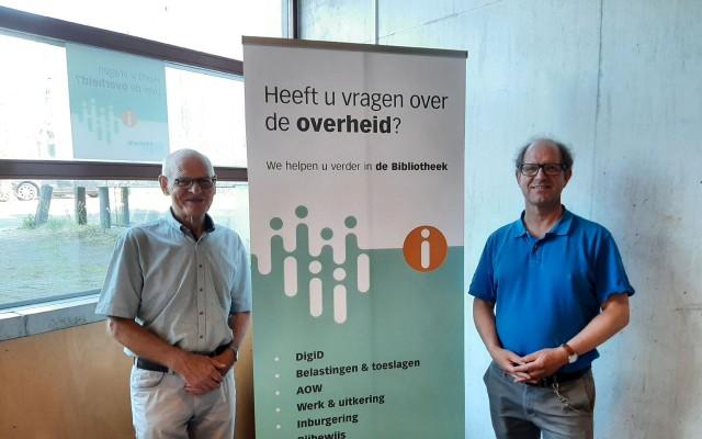 Jan Aaldering en Henri Schoemaker voor vragen over en naar de overheid