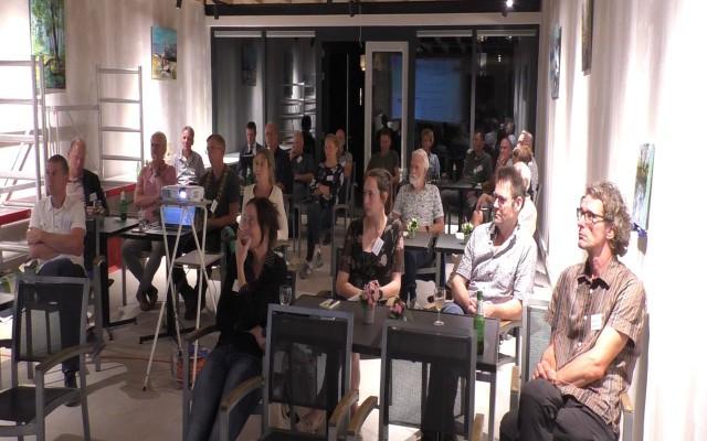 Meer dan 50 vertegenwooridgers van 'groene parners' bezochten de bijeenkomsten