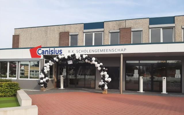 Canisius in teken van CDay