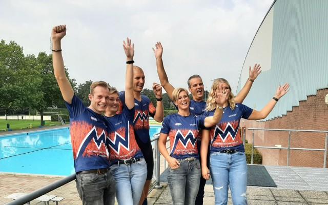 Familie Smit blij met het gesprek met Maarten en trots op de cheque