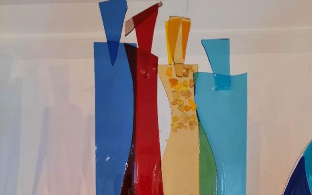 Glaswerk van Ellen Kleine Schaars
