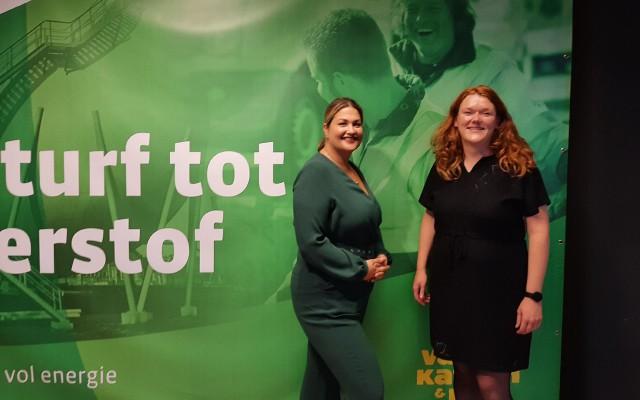 Mandy Krijgsman en Marjolein Wessels hebben de expo opgezet