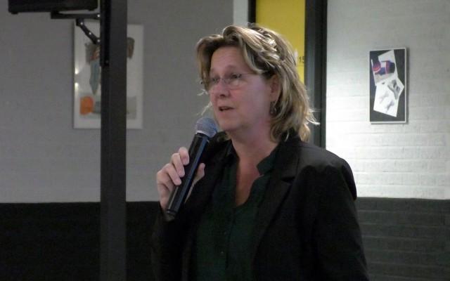 Christa Thier, nieuwe  wijkregisseur Sluitersveld en Schelfhorst.