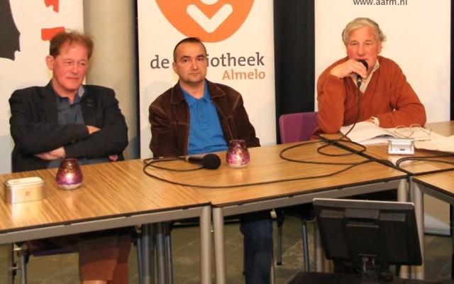 Jan Hammink, Louis Kampman en Gijs Stork van de nieuwe fractie LAS