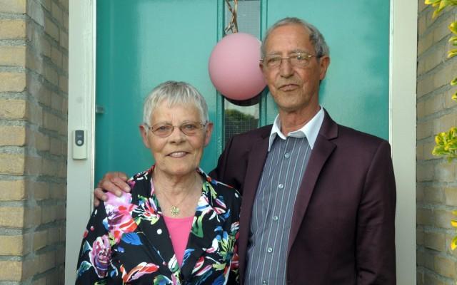 Marietje Elfrink-Blauwgeers en Wim Elfrink (Foto's Geleraaf)