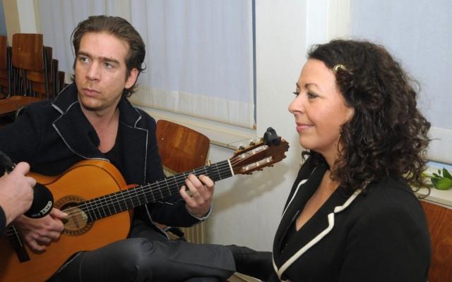 Duo La Valletta (l) Bart Guichelaar, (r) Natasja Valletta