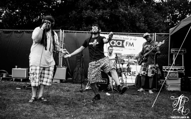 Leeways live bij AAFM op Hobnob (foto: Tineke Klamer)