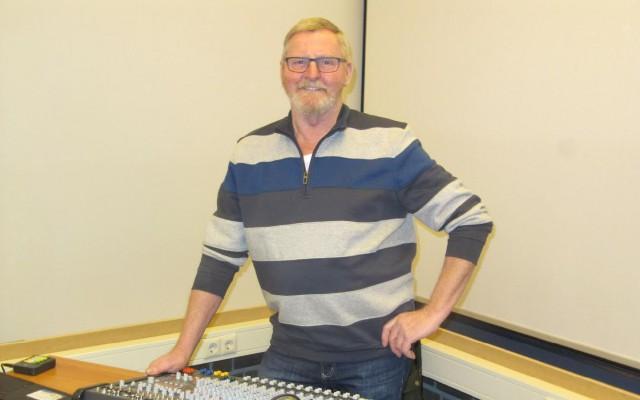 Thom Vinke, geluidstechnicus en modelbouwer