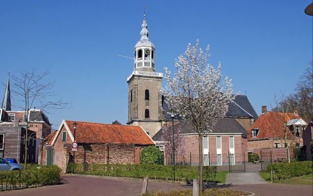 Grote Kerk vanaf het Kolkje