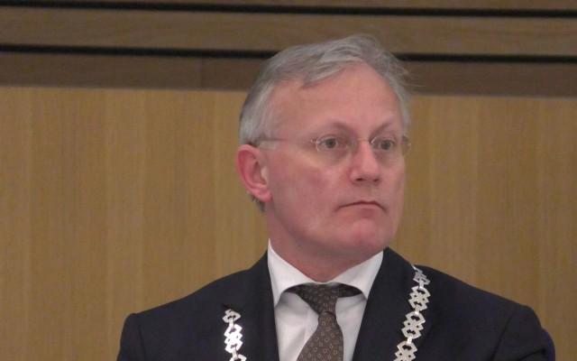 Burgemeester Arjen Gerritsen