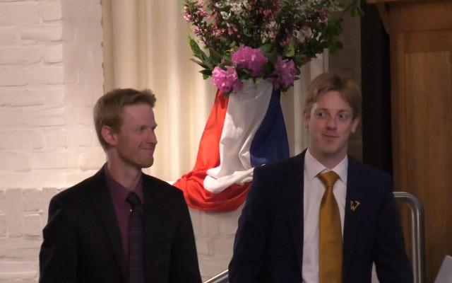 Martijn en Stefan Blaak