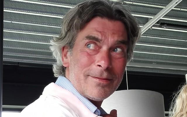 De tevreden coach Niek Hendriks